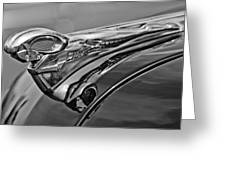 1951 Dodge Pilot House Pickup Hood Ornament 2 Greeting Card by Jill Reger