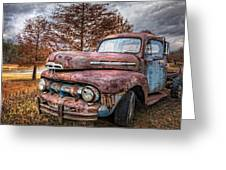 1951 Ford Truck Greeting Card