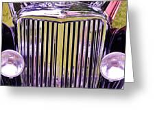 1951 Jaguar Mark V D H C Greeting Card