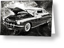 1951 Mercury Classic Car Photograph 001.01 Greeting Card