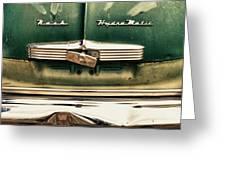 1951 Nash Ambassador Hydramatic Greeting Card