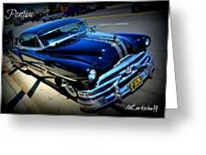 1951 Pontiac Greeting Card