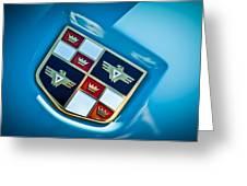 1951 Studebaker Hood Emblem Greeting Card