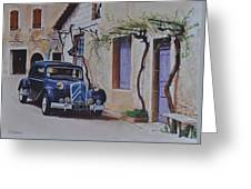 1951's Citroen Greeting Card