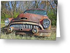 1952 Buick For Sale Greeting Card