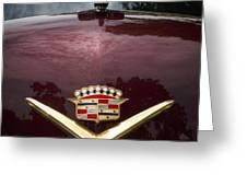 1952 Cadillac Greeting Card