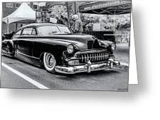 1951 Chevy Kustomized  Greeting Card