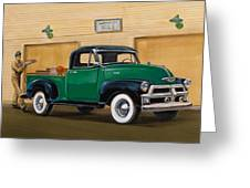 1952 Ford F100 Pickup Greeting Card