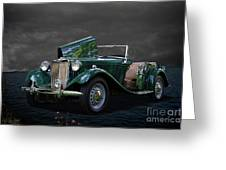 1952 Mg Td Roadster Greeting Card