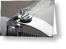 1952 Triumph Renown Limosine Radiator Cap Greeting Card