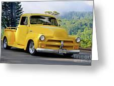1953 Chevrolet Stepside Pickup I Greeting Card