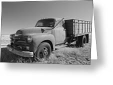 1953 Chevy Bobtail Truck Greeting Card