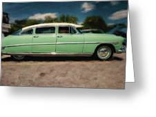 1953 Hudson Hornet Greeting Card