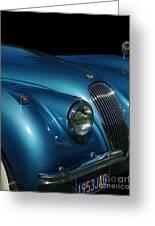 1953 Jaguar 120m  Greeting Card