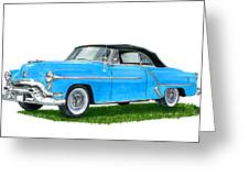 Oldsmobile 98 Convert Greeting Card