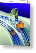 1953 Pontiac Hood Ornament 5 Greeting Card