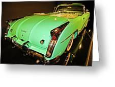 1954 Buick Skylark Fins Greeting Card