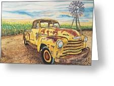 1954 Chevrolet Pickup Truck.   Greeting Card