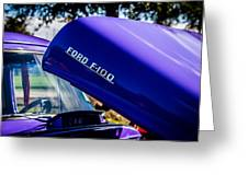1954 Ford F100 Greeting Card