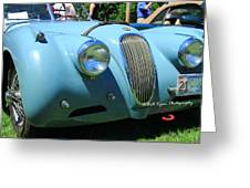 1954 Jaguar Xk Greeting Card