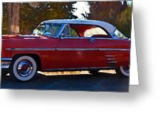 1954 Mercury Monterey Greeting Card