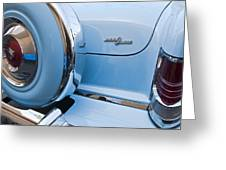 1954 Mercury Monterey Merc O Matic Spare Tire Greeting Card