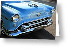1954 Olds - Oldsmobile 88 Front View Greeting Card
