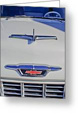 1955 Chevrolet 3100 Hood Ornament Greeting Card
