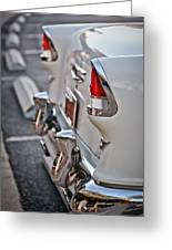 1955 Chevrolet Belair Tail Lights Greeting Card