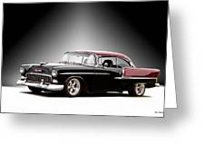 1955 Chvrolet Bel Air 'nor Cal Style' II Greeting Card