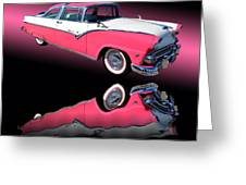 1955 Ford Fairlane Crown Victoria Greeting Card