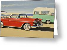 1955 Nomad Greeting Card