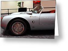 1955 Porsche 550 Rs Spyder . 7d 9411 Greeting Card by Wingsdomain Art and Photography