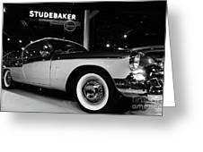 1955 Studebaker President Speedster Greeting Card