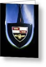1955 Studebaker President Speedster Emblem -0496c45 Greeting Card