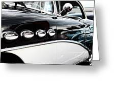 1956 Buick Century Profile 1 Greeting Card