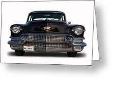 1956 Cadillac Sixty Special Greeting Card