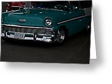 1956 Chevy 210 Greeting Card