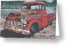 1956 Chevy Pickup Greeting Card