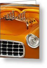 1956 Chrysler Custom 2 Door Sport Wagon Greeting Card