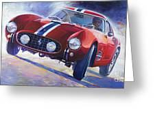 1956 Ferrari 250 Gt Berlinetta Tour De France Greeting Card