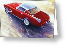 1956 Ferrari 410 Superamerica Scaglietti Series Greeting Card