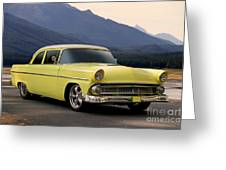 1956 Ford Fairlane Club Coupe Greeting Card
