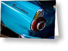 1956 Ford Thunderbird 2 Greeting Card