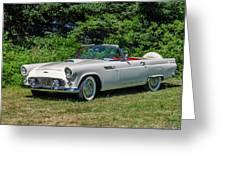 1956 Ford Thunderbird Greeting Card