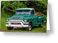 1956 Gmc Pickup Greeting Card