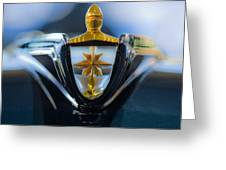 1956 Lincoln Hood Ornament Greeting Card