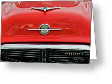 1956 Oldsmobile Hood Ornament 4 Greeting Card by Jill Reger