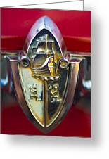 1956 Plymouth Belvedere Emblem 2 Greeting Card