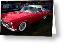1956 Tbird Greeting Card